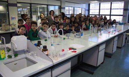La química de los niños de primaria