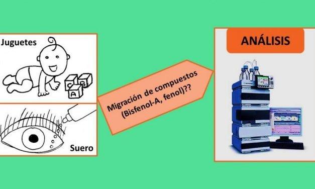 Análisis de juguetes y envases de suero para la determinación de fenol y bisfenol A