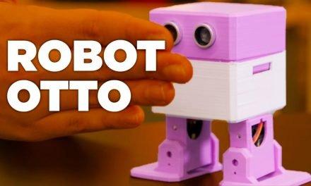 ESPACIO MAKER: Robot OTTO