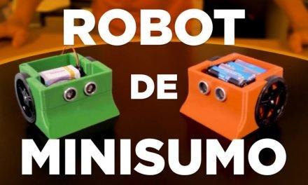 ESPACIO MAKER: Robot Minisumo