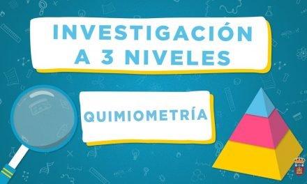 Quimiometría, por Cruz Ortiz | Investigación a 3 niveles