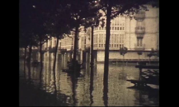 Encontradas grabaciones de las inundaciones de Burgos