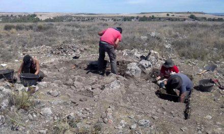 Equipo UBU descubre muralla de la Edad del Cobre