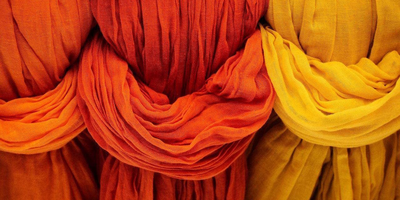 Poliamidas aromáticas coloreadas: nuevas fibras para tejidos especiales