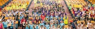 Participantes a la FIRST LEGO League Burgos 2016